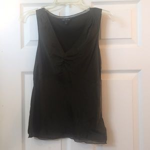 Silk sleeveless blouse - the Limited